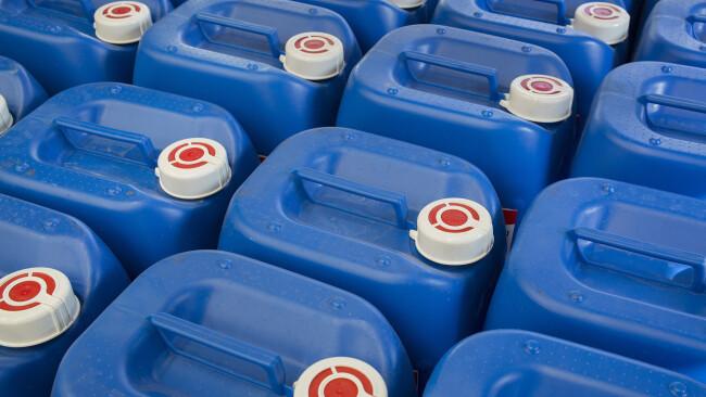 Kanister Benzin Sprit Diesel Treibstoff Symbolbild