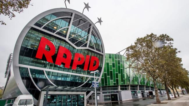 Allianz-Stadion Neusiedler bauten mit Rapid