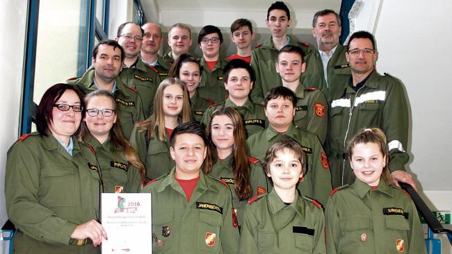 Jugendfeuerwehr, Aktion 122