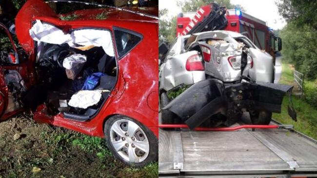 2 Unfälle in 12 Tagen Stoob/Unterfrauenhaid - Pkw krachten in Bäume: Gleich zwei Unfälle auf Güterweg