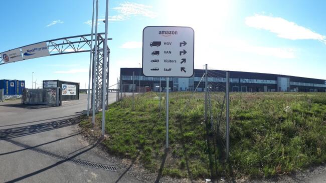 Amazon Verteilzentrum in Großebersdorf (Mistelbach) Symbolbild