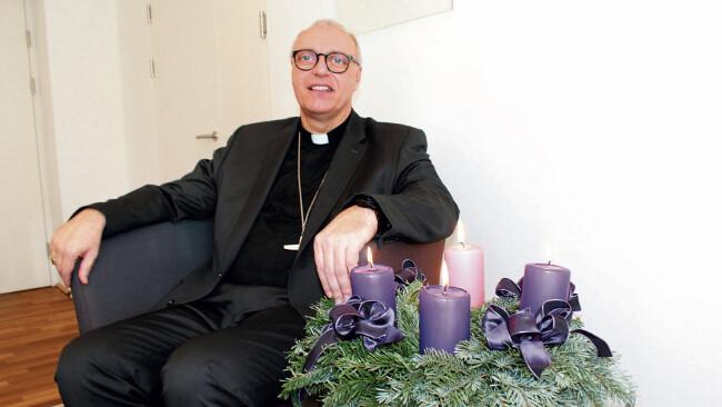 Bischof Ägidius Zsifkovics im BVZ-Weihnachtsinterview