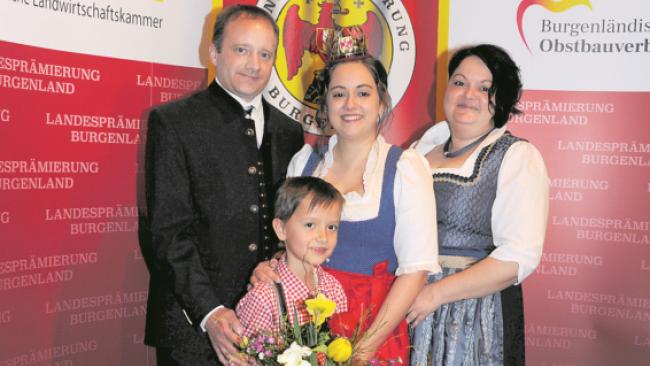 Burgenländische Obstkönigin Nina Nikles