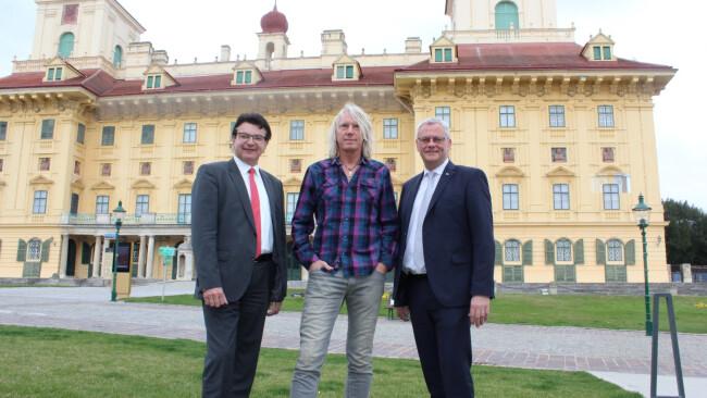 Schlosspark Eisenstadt / Programm Nova Rock / Ewald Tatar