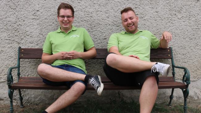 Rene Artner und Andre Pogatsch