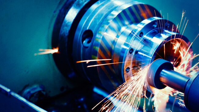 industrie motor symbolbild