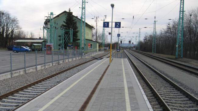 Bahnhof Müllendorf