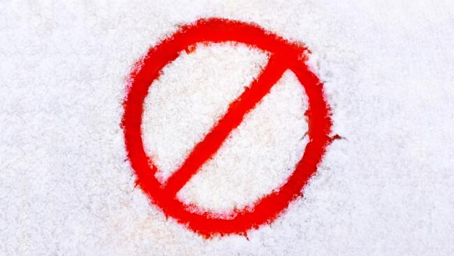Schneemangel Symbolbild