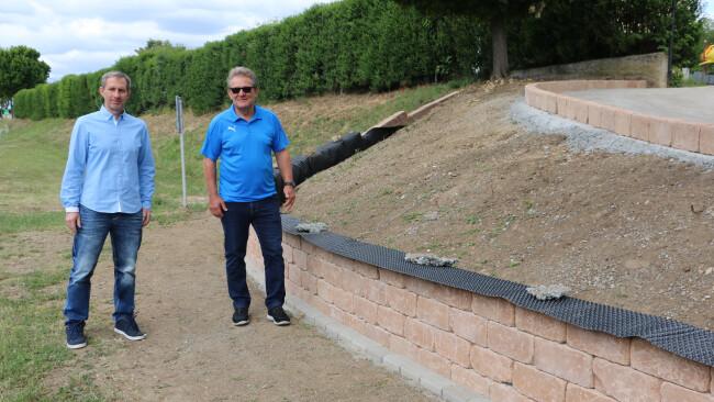 Initiative von Verein - Großwarasdorfs Friedhofseingang wird erneuert