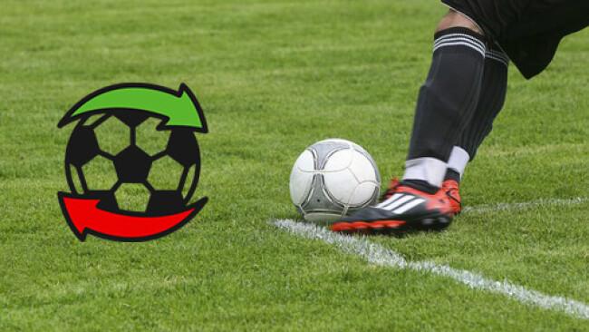 Fußball Transfer Transfers Grafik Symbolbild