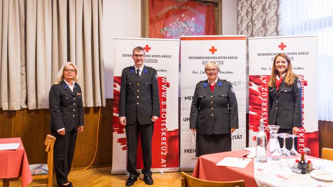 """Bezirk Mattersburg - Rot Kreuz-Bezirksversammlung: """"Sind da, um zu helfen"""""""