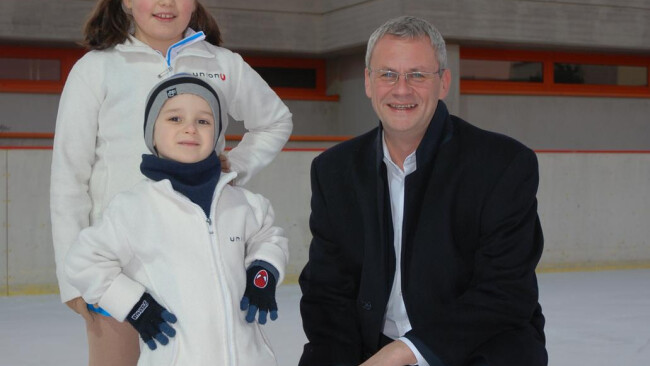 Beginn Eislaufplatz-Saison Eisenstadt