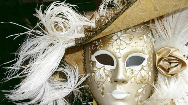 "Maske Venezianischer ""Fasching"""