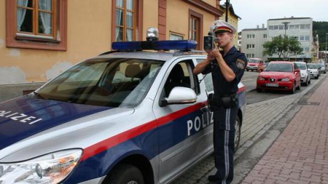 Radar Radarpistole Polizei Kontrolle Radar Widescreen Raser