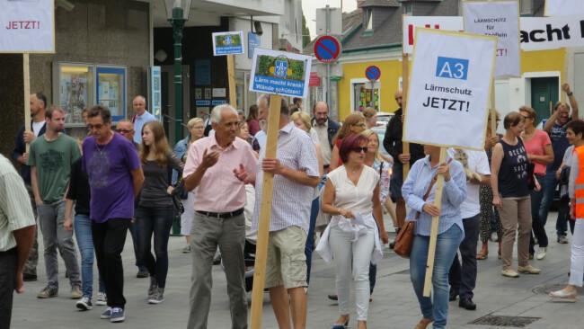 Demonstration Demo Großhöflein Bürgerinitiative Eisenstadt