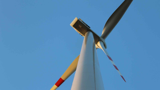 Windenergie Windpark Windrad Windräder Symbolbild