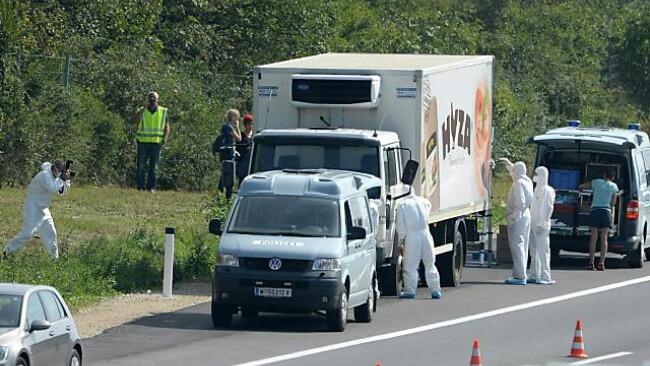 Todes-Foto aus innerem des Schlepper-Lkw beschäftigt die Polizei
