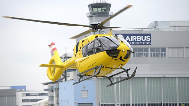 Rettungshubschrauber brachte Opfer nach Traunstein