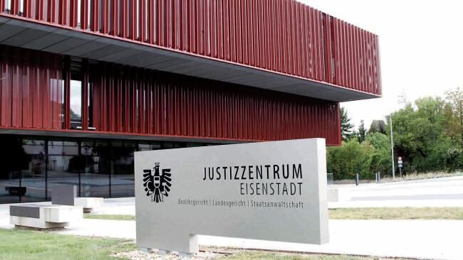 Gericht Eisenstadt Justizzentrum Eisenstadt Burgenland Prozess Urteil Symbolbild