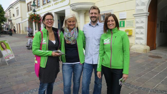 Yasmin Dragschitz (r.) verlässt die Gemeindepolitik . Foto: