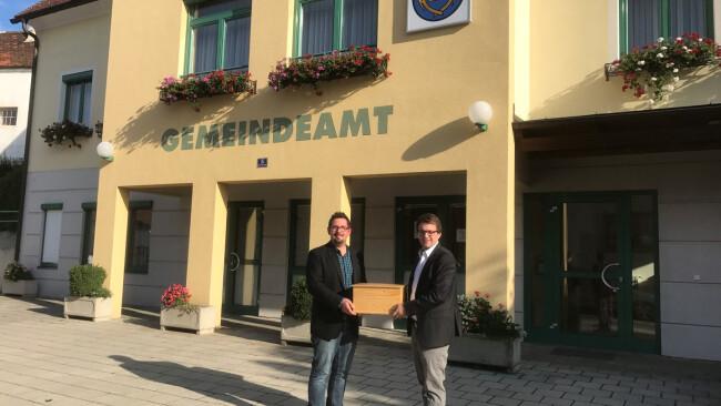 Badersdorf Daniel Ziniel und Sven Baumgartner