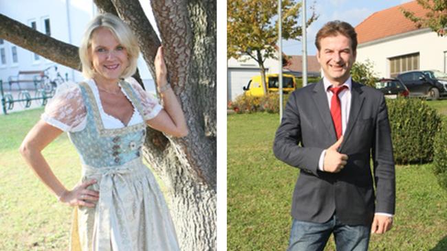 Barbara Baldasti und Gert Polster