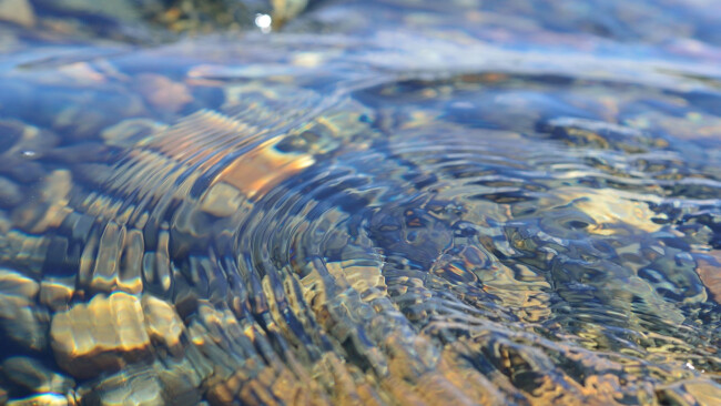Fluss Wasser Symbolbild