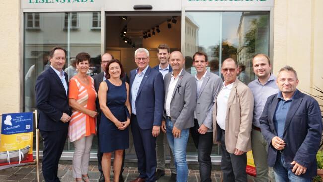 Neueröffnung Tourismusbüro Eisenstadt leithatal