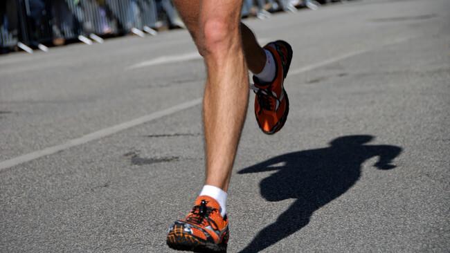 Laufen Joggen Laufsport Marathon Symbolbild