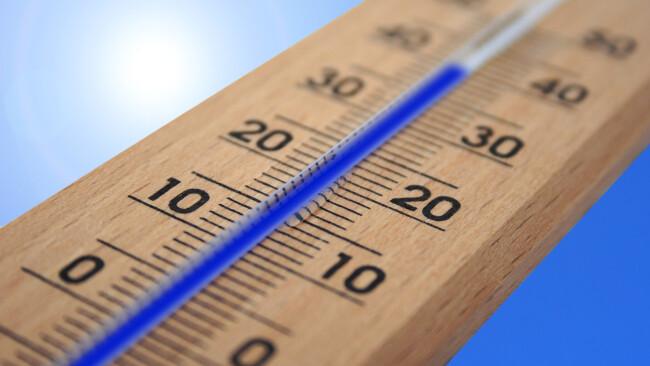 Hitze Thermometer Symbolbild