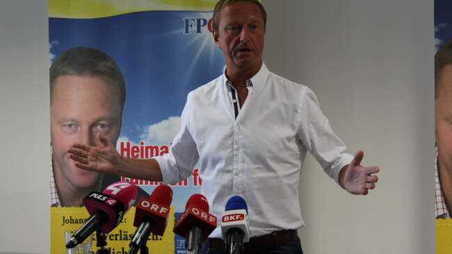 FPÖ-Chef Hans Tschürtz
