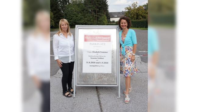 """Kino Oberpullendorf Gesperrter Parkplatz öffnet  für """"Roten Teppich"""""""