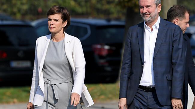 Rendi-Wagner auf dem Weg zur SPÖ-Sitzung