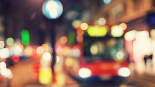 Bus Nachtbus Symbolbild