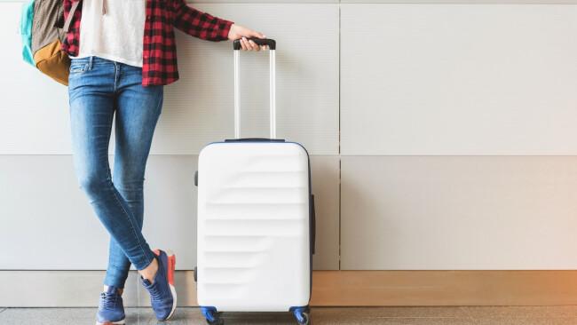 Flughafen Reise Gepäck Symbolbild