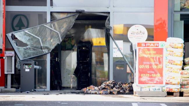 Bankomat Sprengung Walbersdorf