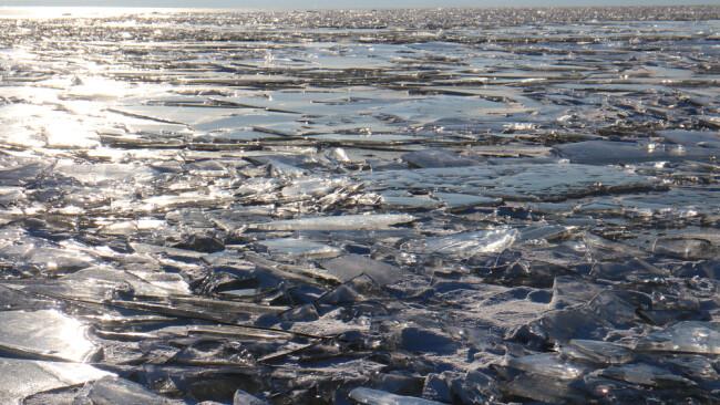 Neusiedler See Eis Symbolbild