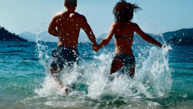 Sommer See Urlaub