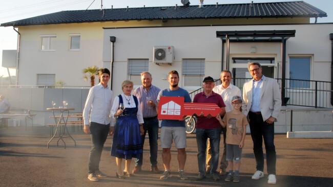 Übergabefeier - Wohnbau in Pilgersdorf: Schlüssel zu neuem Leben