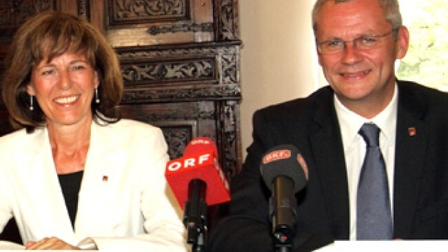 Andrea Fraunschiel und Thomas Steiner