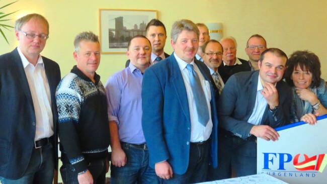o+lüpäö. FPÖ Bezirk Oberwart Wiesler bleibt Chef
