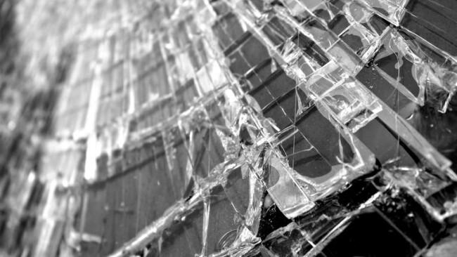 Glasscheibe Fensterscheibe Scheibe Splitter Glas
