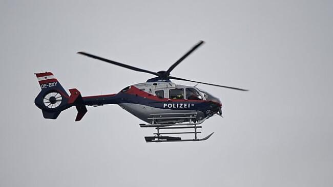 Auch die Suche per Polizeihubschrauber blieb ohne Erfolg