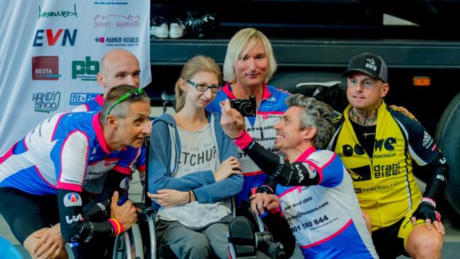"""Cycling4Vanessa"" Vanessa Krankheit krank Eisenstadt"