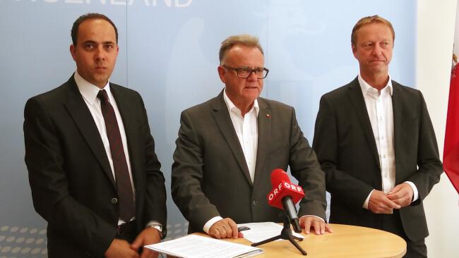 Christian Spuller, Hans Niessl und Johann Tschürtz