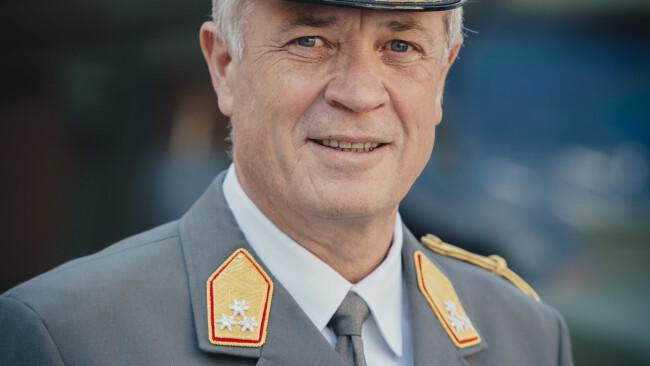 Burgenland Generalleutnant Johann Luif