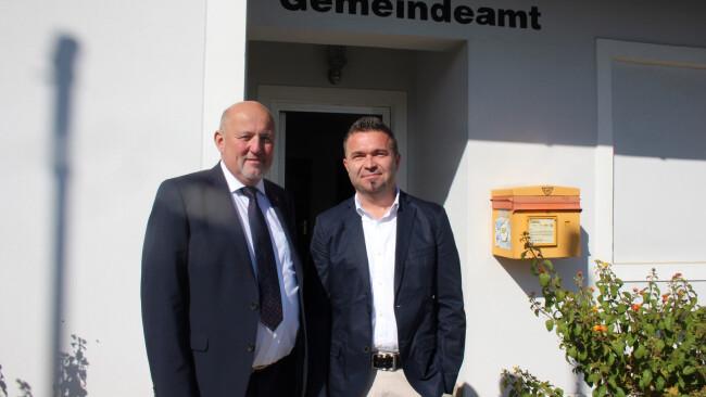 Kleinmürbisch Martin Frühwirth und Wolfgang Wolf