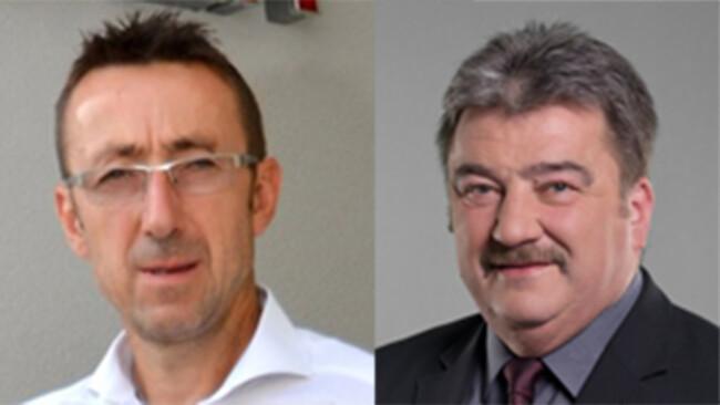 Johann Steurer (ÖVP) und Leo Steinwandtner (SPÖ)