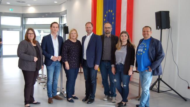 EU-Wahl Bezirk Eisenstadt Europa-Kandidaten in der Schule