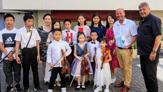 Chinesisches Konzert in Eisenstadt